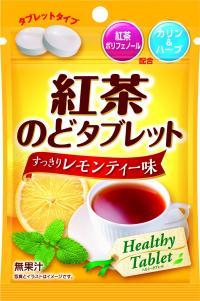 紅茶のどタブレット すっきりレモンティー味