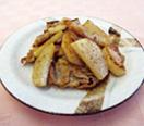 豚肉と山芋の塩麹炒め
